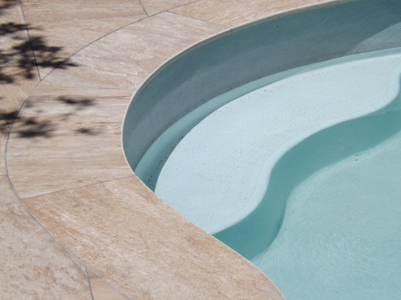Porcelain Pool Copings Mr Bullnose - Bullnose tiles for pools